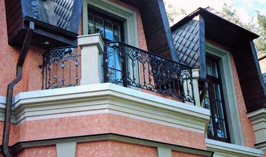 Кованые балконные ограждения - мастерская художественной ков.